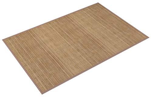 vidaXL Alfombra de bambú Natural Cuadrada Color marrón, 200 x 300 cm