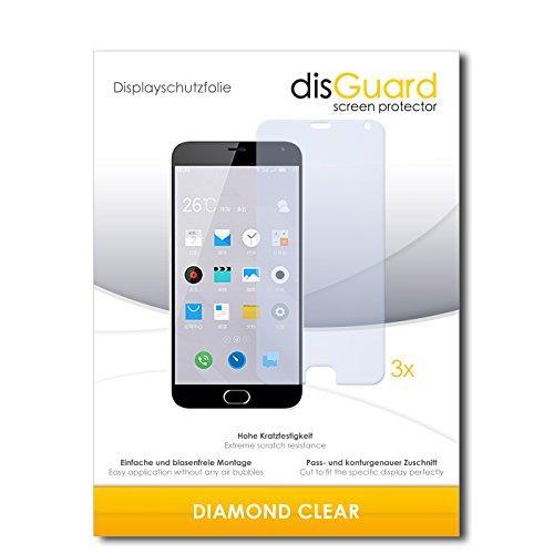 3 x disGuard® Schutzfolie Meizu M2 Note Bildschirmschutz Folie