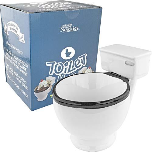 FON-10036 toilet mug Kaffeebecher, keramik, beige ()