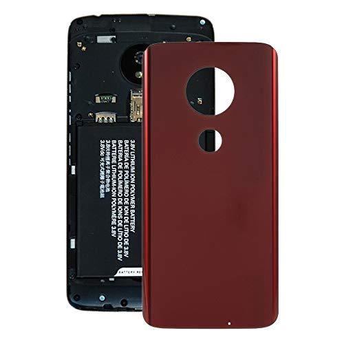 PAN-IT Parti di Riparazione Batteria Cover Posteriore per Motorola Moto G7 Plus (Nero) (Colore : Red)