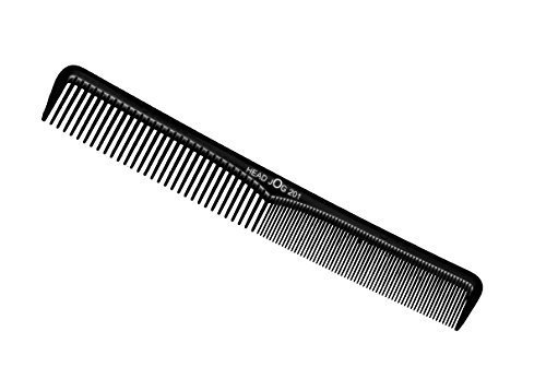 Head Jog 201 Black Styling Comb by Hair Tools