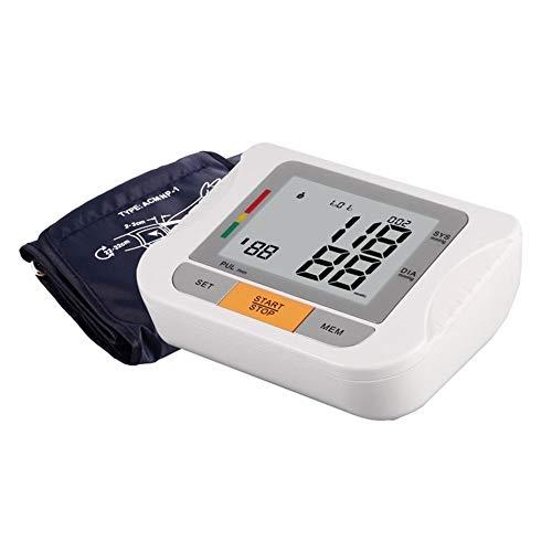 KAIDINUR Blutdruckmessgerät, Digitale oberen Arm Blut Druckwächter für Zuhause-mit großen LCD-Display, automatische anbieten T und Speicher, Manschette