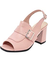 AicciAizzi Damen Blockabsatz Sandalen Party Kaufen Online-Shop