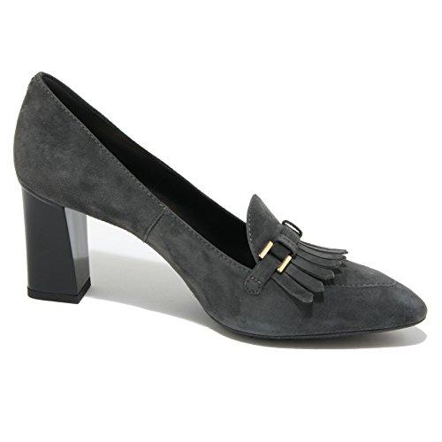 0429O decollete TOD'S FRANGIA MORSETTO grigio scarpe donna shoes women Grigio