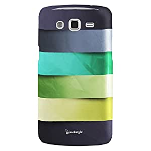 3D Striped Pattern Hard Back Case for Samsung Galaxy Grand i9082