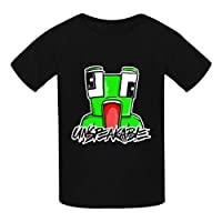 OWIIWJS Kids Unspeakable T shirt Summer Tees Soft Crewneck Tops