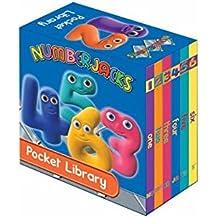 Numberjacks Pocket Library (January 5, 2009) Board book