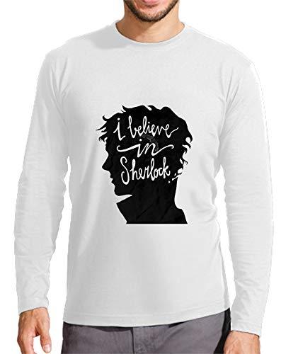 The Fan Tee Camiseta Manga Larga de NIÑOS Sherlock Watson Serie 12-14 Años