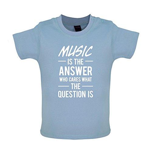 music-is-the-answer-t-shirt-bb-bleu-3-6-mois