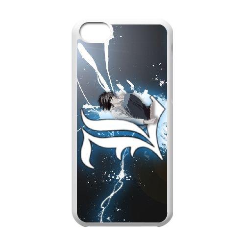 Death Note coque iPhone 5C Housse Blanc téléphone portable couverture de cas coque EBDXJKNBO11397