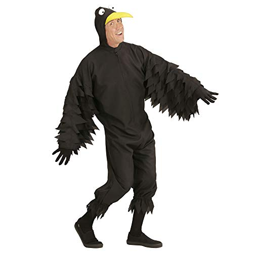 Fancy Kostüm Vogel Dress - Widmann - Erwachsenenkostüm Rabe