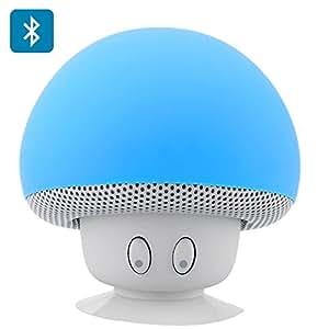Enceinte Bluetooth Champignon Ventouse Resistante aux éclaboussures Sortie 3W 280mAh Portée 10m Modèle