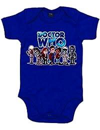 Body bebé Doctor Who Décimo Doctor con acompañantes ...