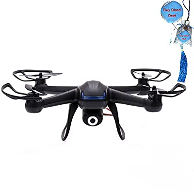 2015 New Updated Version DM007 2.4G 4CH 6 Axis X4 RC Quadcopter With 2MP Camera(include 2GB Card) RTF By Tiny Direct Deal by Tiny(TM)