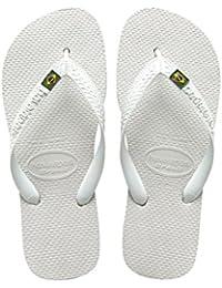 Havaianas Brasil, Infradito Unisex - Adulto, Bianco (Brasil White), 35/36 EU (33/34 Brasiliano)