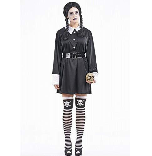 Costume da Scolaretta Sinistro - Donna, M, Halloween