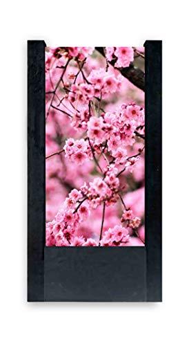 Lampada da Tavolo nera Ciliegio fiori