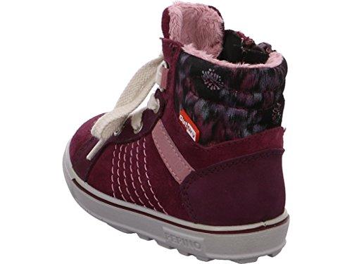 Ricosta Megi Mädchen Hohe Sneakers Rot