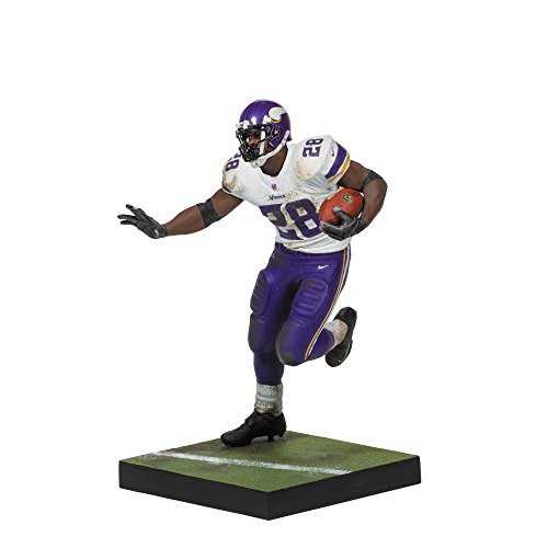Image of McFARLANE NFL SERIES 34 ADRIAN PETERSON VIKINGS ACTION FIGURE ACTION FIGURE