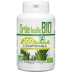 Ortie Bio 400mg - 200 comprimés (Feuille)