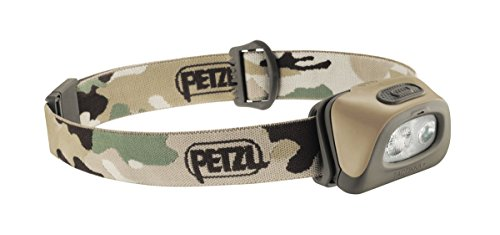Petzl Tactikka+ Lampe Frontale Mixte Adulte, Camouflage