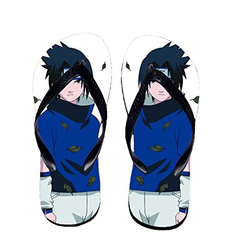 Bromeo Naruto Anime Aleta Unisex Fracassos Toe Trenner Chinelos 306