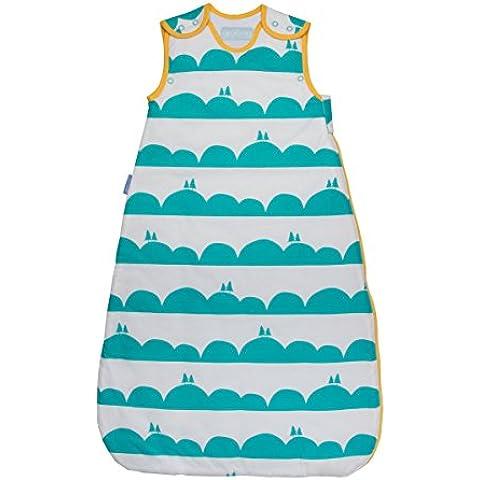 Grobag Anorak Rolling Hills - Saco de dormir para bebé (2,5 Tog, 6-18 meses), diseño de colinas