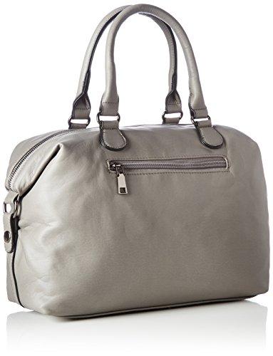 Boscha - Zip Bag, cartella Donna Grigio (Grey)