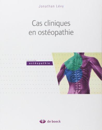 cas-cliniques-en-ostopathie-de-jonathan-lvy-21-fvrier-2014-broch