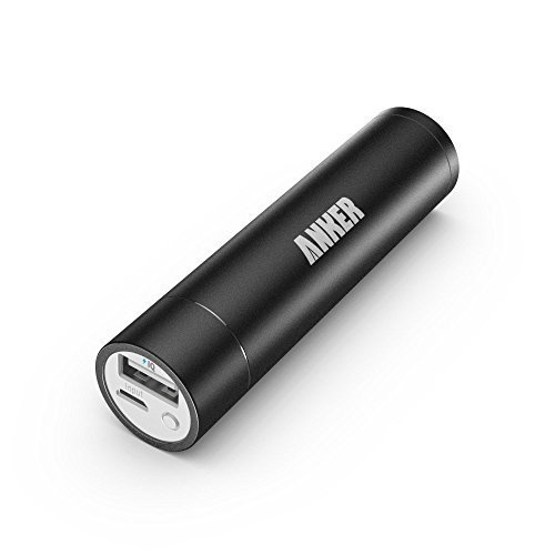 [Upgraded Capacity] Anker 2nd Generation Astro mini 3350mAh Lipstick-Sized Portable Charger External Battery Power Bank with PowerIQ Technology for iPhone, Samsung, GoPro and More (Black)  available at amazon for Rs.2797