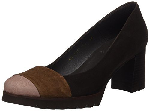 Gadea Miro, Zapatos de Tacón con Punta Cerrada para Mujer, Varios Colores (Wine), 36 EU