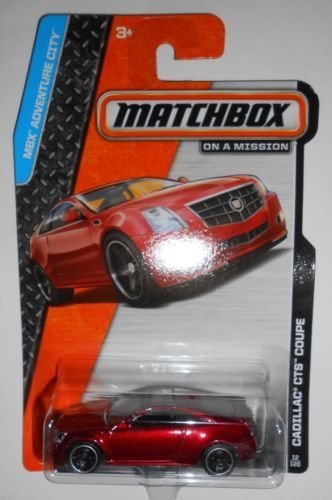 2014 Matchbox MBX Adventure City Cadillac CTS Coupe - [Ships in a Box!] by Mattel (English Manual)