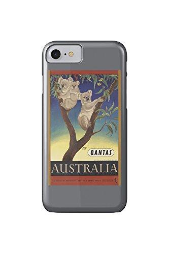 qantas-australia-vintage-poster-artist-mayo-eileen-australia-c-1953-iphone-7-cell-phone-case-slim-ba