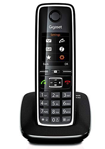 Gigaset C530 - Teléfono Inalámbrico con Manos Libres y Pantalla en color