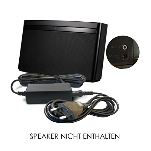 Soundlink Wireless Music System (Ersatz Bose Akku Ladegerät, Netzteil, Netzadapter, Netzanschluss 20V / 20 Volt für SoundDock Portable (Original) N123, SoundLink Air/Wireless Digital Music System Player Mobile Speaker Lautsprecher)