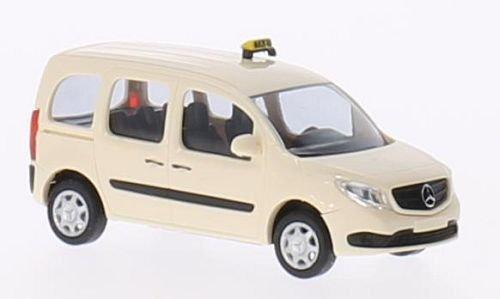 Mercedes Citan break, Taxi, 0, voiture miniature, Miniature déjà montée, Busch 1:87