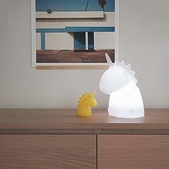 lampe junior wei es einhorn mehrfarbig uni the unicorn smoko inc beleuchtung. Black Bedroom Furniture Sets. Home Design Ideas