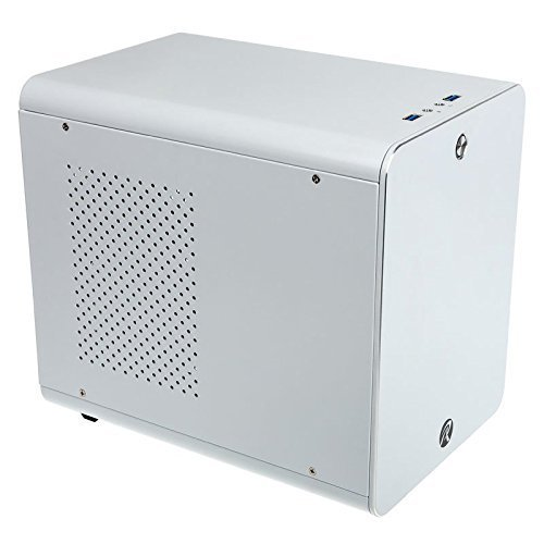 Price comparison product image RAIJINTEK 0R200039 METIS Mini-ITX Tower Computer Case - White