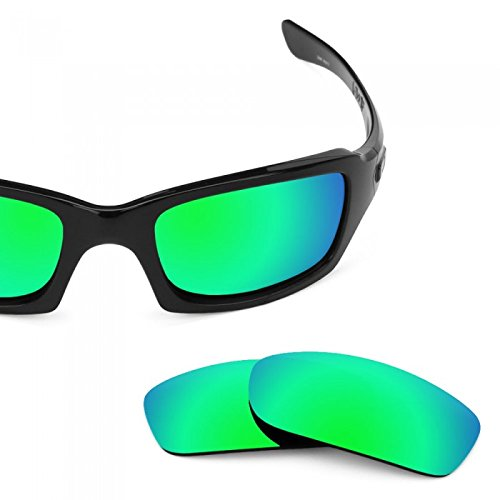 sunglasses restorer Basic Ersatzgläser Sapphire Green für Oakley Fives Squared