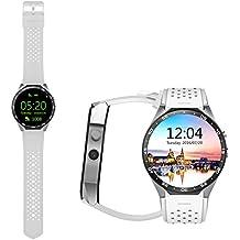 kw88todo en uno reloj inteligente Android 5.1apoyo bluetooth wifi gps monitor de frecuencia cardiaca