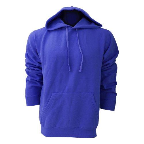 Sweatshirt à capuche Russell pour homme (XL) (Bleu roi vif)
