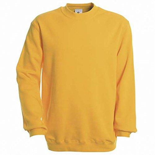 B&C - Sweatshirt à col rond - Homme Noir