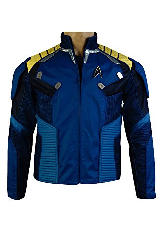 Fuman Star Trek Beyond captain James T. Kirk cosplay Kostüm Oberteil Karneval Kult (Star Trek Shirt Kostüme)