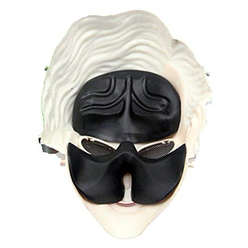 Máscara de Payaso de Halloween, Funpa Cosplay Máscara de Disfraces Suministros de Fiesta Máscara de Disfraces para Halloween