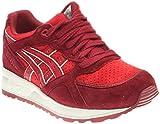 ASICS - Gel-Lyte Speed Herren, Rot (Burgundy/Red), 43 EU B(M) Damen / 44 EU D(M) Herren