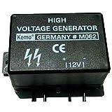 Mini-générateur de haute tension kit monté Kemo M062 9 V/DC, 12 V/DC 1 pc(s)