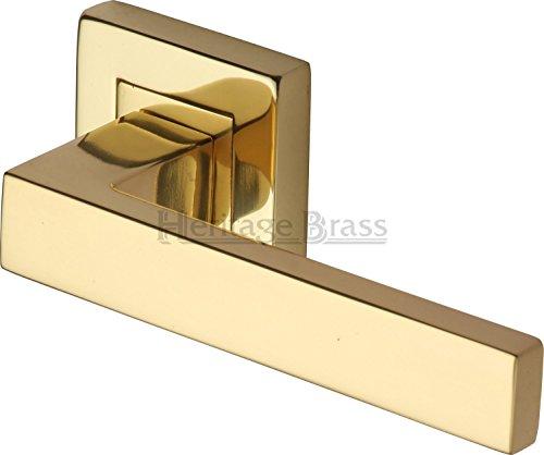 heritage-brass-sq5420-pb-juego-de-manilla-para-puertas