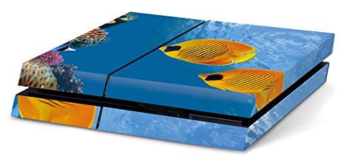 Vinyl-aquarium (Aquarium Hochwertiger Sony PS4 Playstation-Aufkleber/Sticker aus Vinyl)