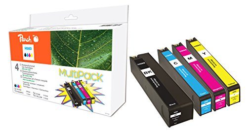 Preisvergleich Produktbild Peach Spar Pack Tintenpatronen kompatibel zu HP No. 980