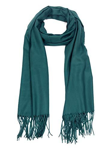 DEBAIJIA Sciarpa accogliente Super Soft Smooth Pashmina protezione fredda Stola Scialle lana cachemire per donna extra large 200x70 stile elegante